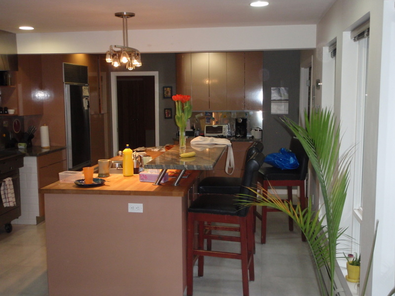 The kitchen before Green Coast.