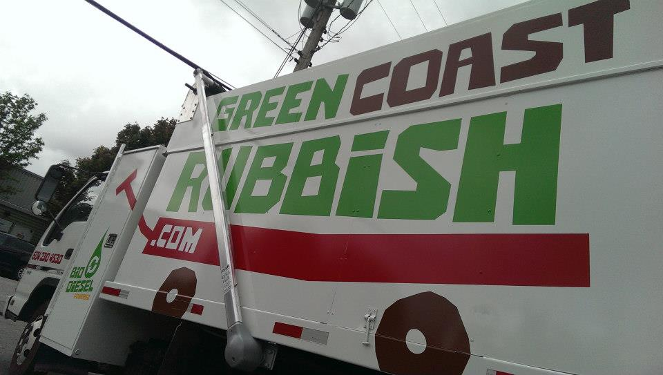 The side view of our Biodiesel truck.