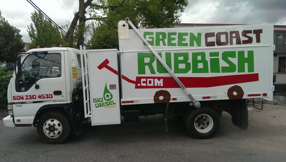 Our newest addition to our fleet which is fully powered by Biodiesel.