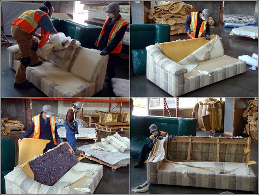 Couch Recycling. Junk Removal Vancouver. Green Coast Rubbish.