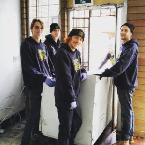 commercial freezer recycling - junk removal in vancouver