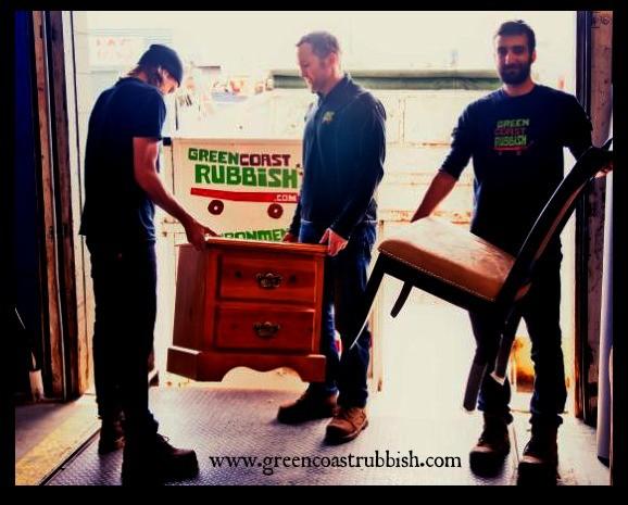 Green Coast Rubbish Furniture Recycling