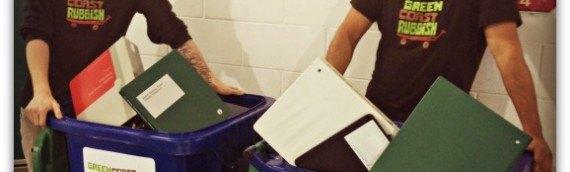 Green Coast Rubbish Launches New Binder Recycling Program