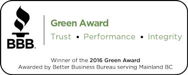 BBB Green Award Winner