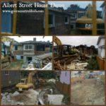 Albert Street House Demolition