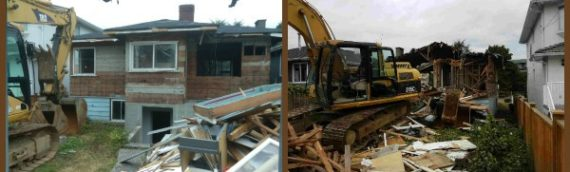 Green Coast in Action: Albert Street House Demolition