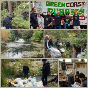 Tempe Pond Shoreline Cleanup