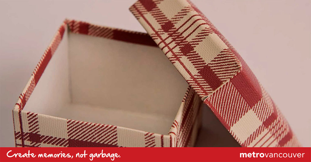 green your gift wrapping