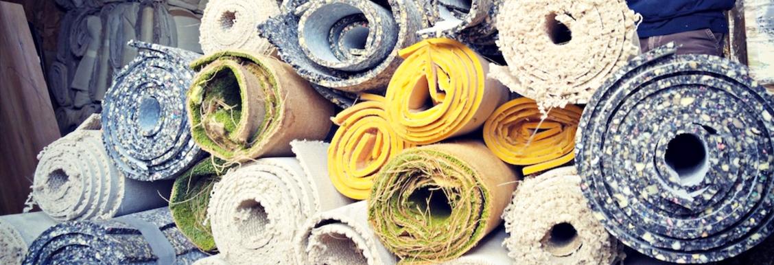 carpets green coast rubbish