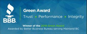 BBB Winner Badge (Green)