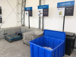 recycling resources-Vancouver Recycle Centre