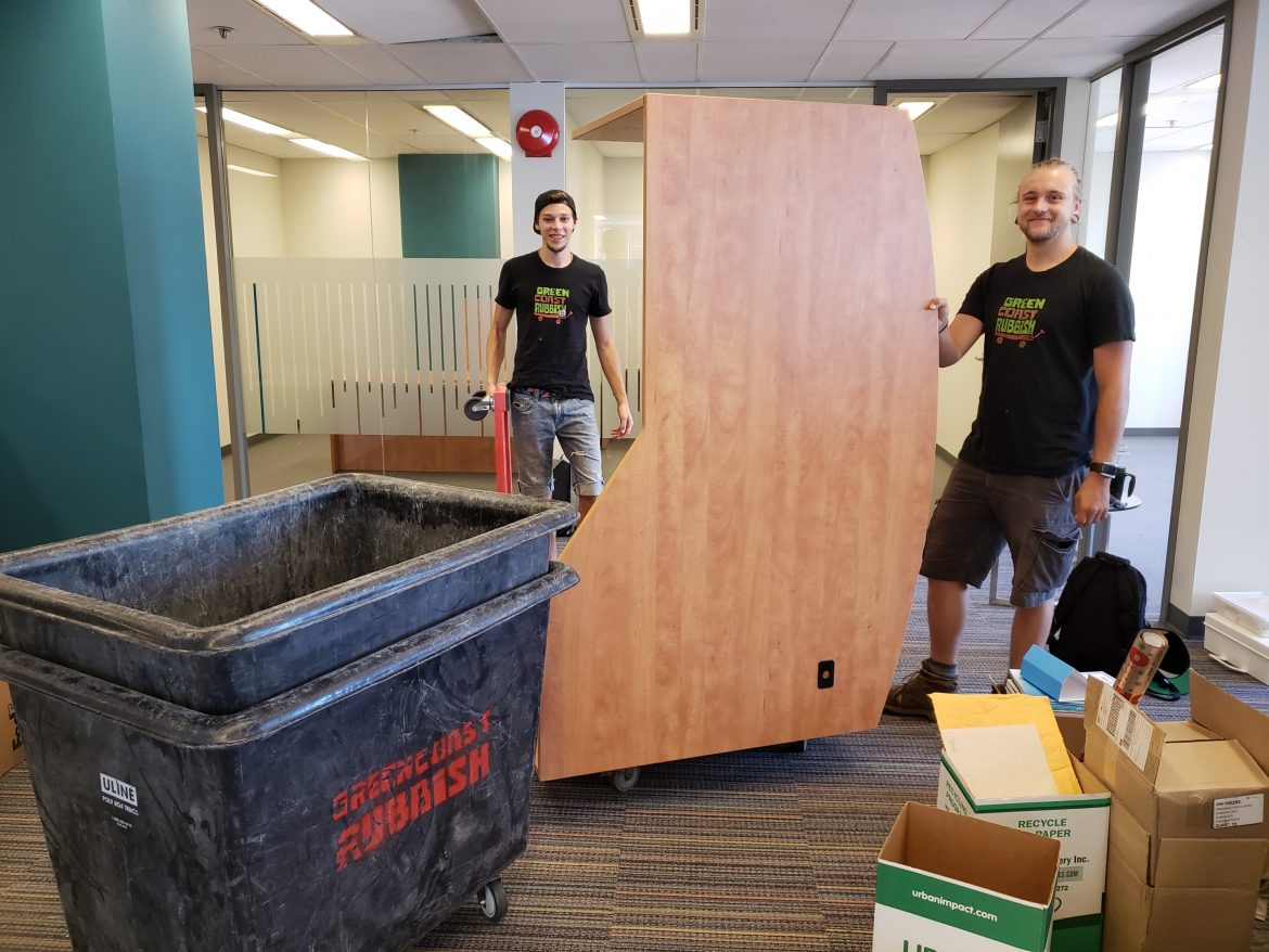 zero-waste office furniture recycling