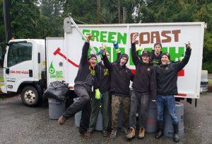 Green Coast Rubbish team
