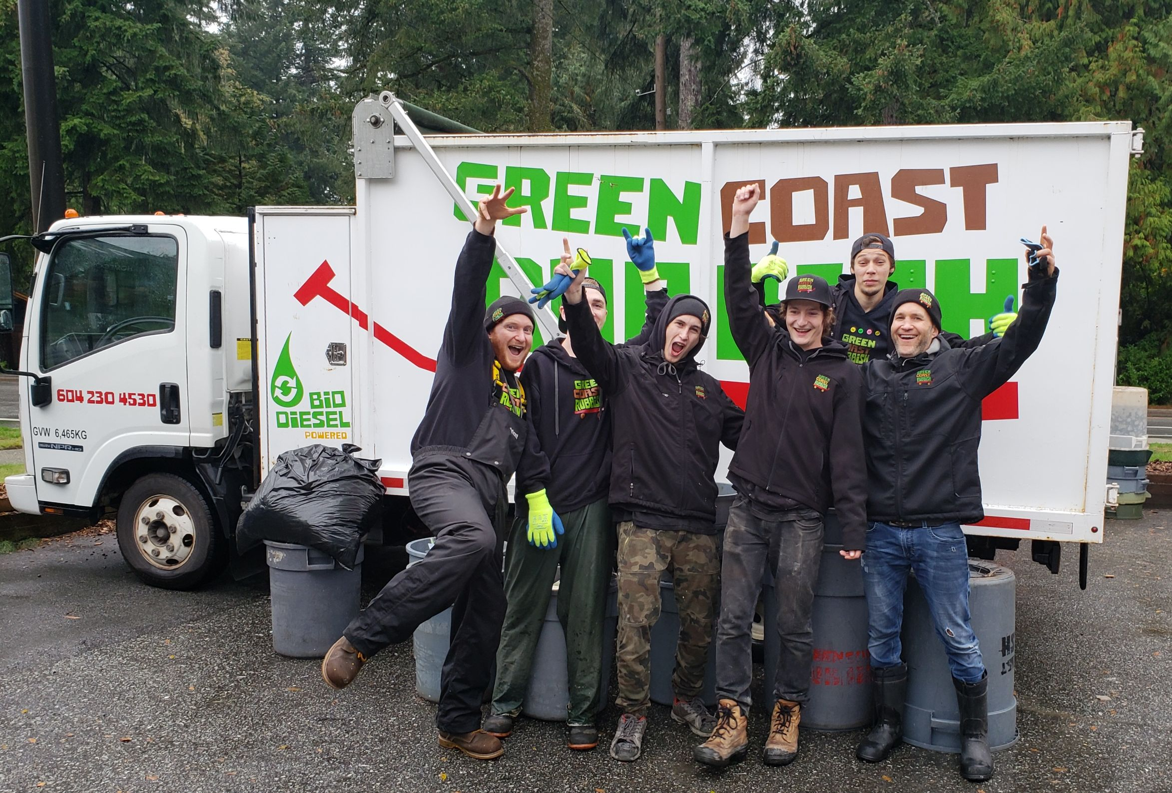 Green Coast Rubbish team