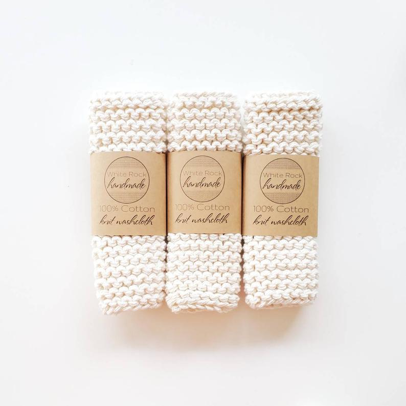White Rock dish cloths